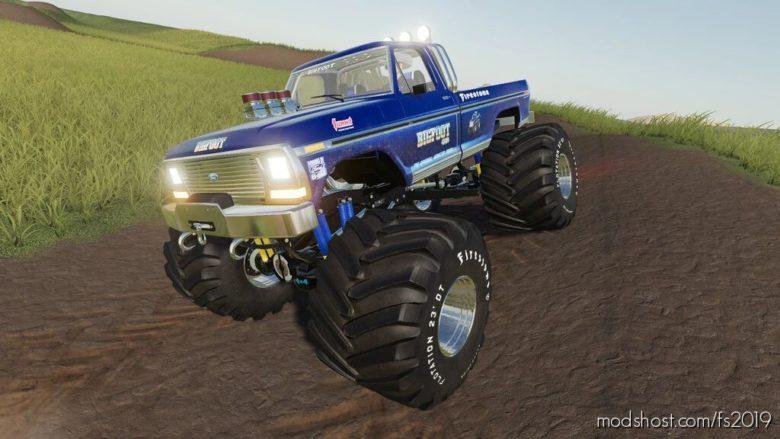 Bigfoot 4X4X4 for Farming Simulator 19