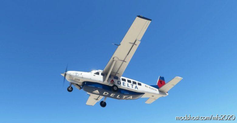 Cessna 208B Grand Caravan Delta AIR Lines [4K Fictional] for Microsoft Flight Simulator 2020