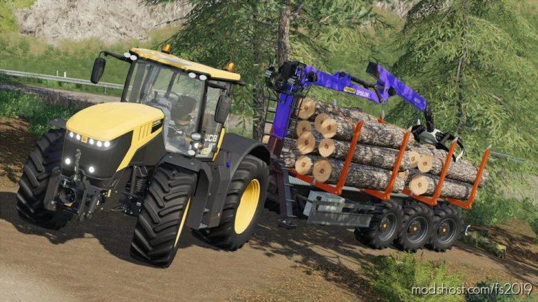 Lizard Forest Trailer for Farming Simulator 19