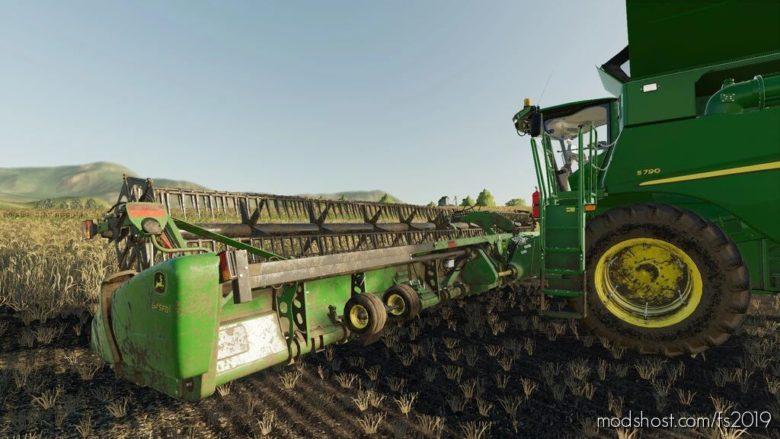 John Deere Draper 645 FD for Farming Simulator 19