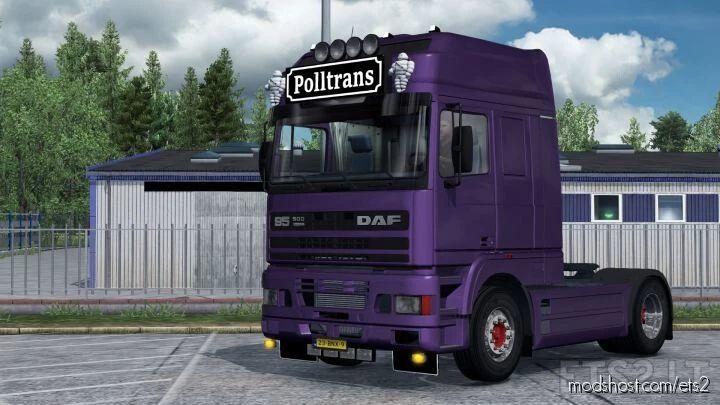 DAF 95 ATI By XBS Slot [1.40] for Euro Truck Simulator 2