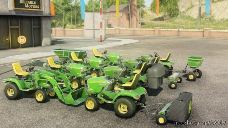 John Deere X748 for Farming Simulator 19