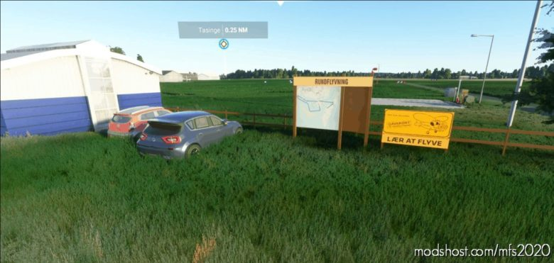 Ekst – Sydfyns Airfield Tåsinge for Microsoft Flight Simulator 2020