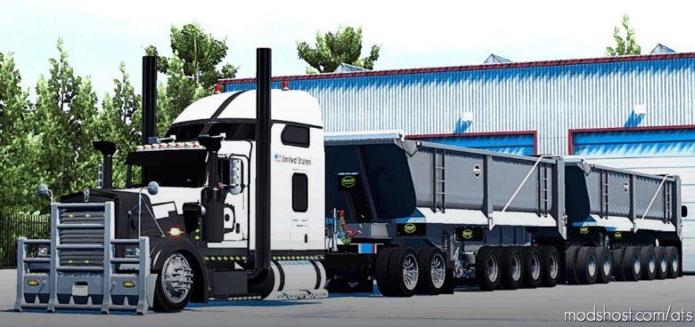 MFG MAC Dump Trailer [1.39 – 1.40] for American Truck Simulator