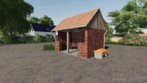 Rural BUS Stop (Prefab) for Farming Simulator 19