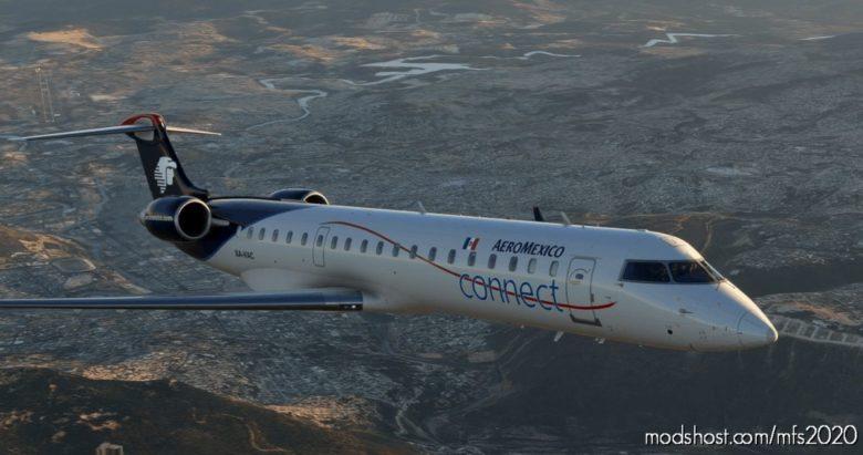 [8K] Aeromexico Connect – Aerosoft CRJ 700 for Microsoft Flight Simulator 2020