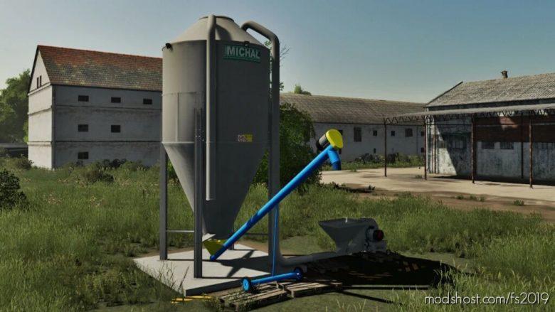 Grain Silos V1.0.0.1 for Farming Simulator 19