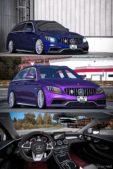 Mercedes Benz C63S [1.40] for Euro Truck Simulator 2