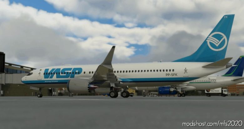Bredok's 737 MAX | Vasp for Microsoft Flight Simulator 2020