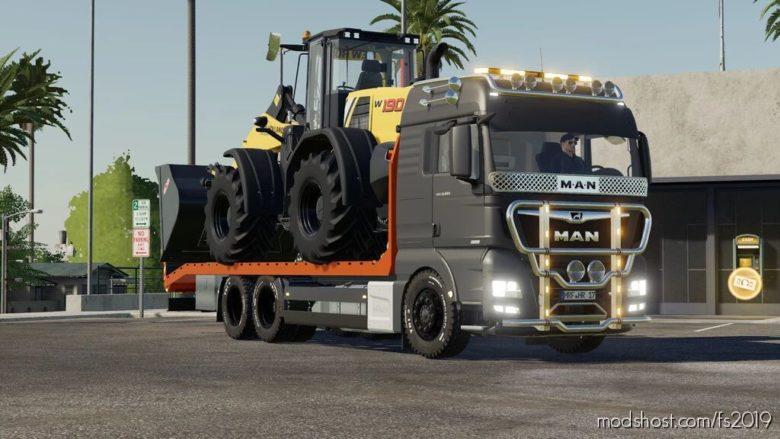 MAN TGX Transporter for Farming Simulator 19