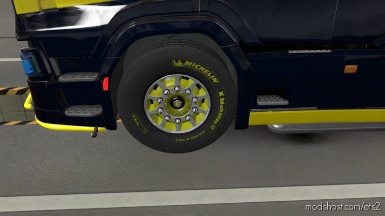 V8K Blaine Wheels Rework By Solutech [1.40] for Euro Truck Simulator 2