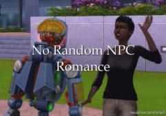 NO Random NPC Romance for The Sims 4
