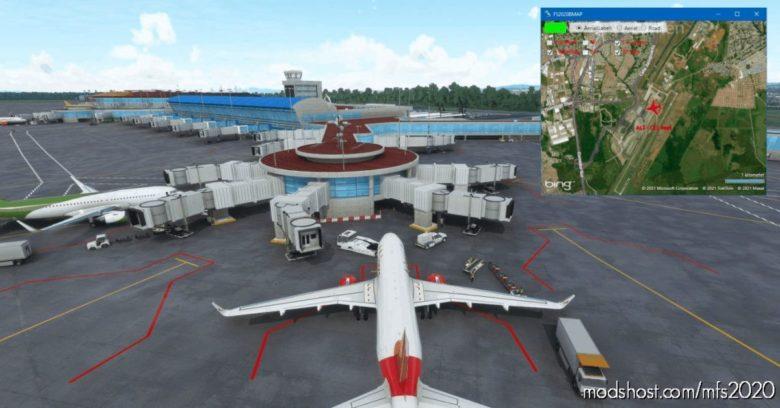 FS2020 Map for Microsoft Flight Simulator 2020