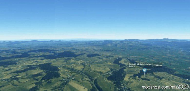 Terrain ULM Saint-Julien Sancy LF6356 for Microsoft Flight Simulator 2020