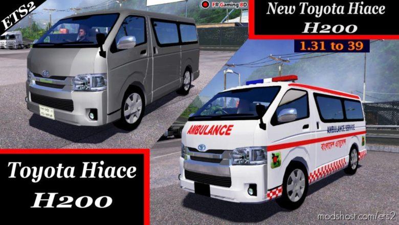 Toyota Hiace H200 CAR V2.0 for Euro Truck Simulator 2
