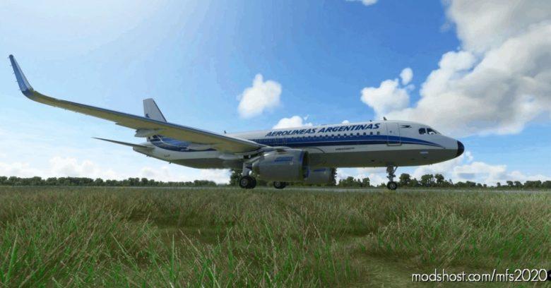 [A32NX] Aerolíneas Argentinas NX 8K (Retro Livery) for Microsoft Flight Simulator 2020