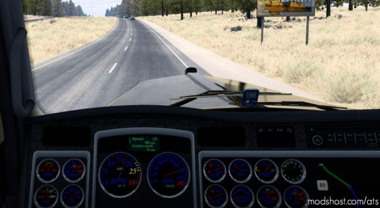 W900 Dash Rebuilt for American Truck Simulator