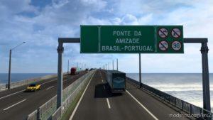 Addon – Mapa EAA 6.1 – Bridge Brazil Portugal for Euro Truck Simulator 2