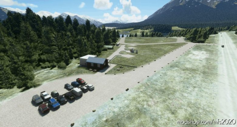 Cline River Heliport Base For Rockies Heli Canada – CRR5 for Microsoft Flight Simulator 2020