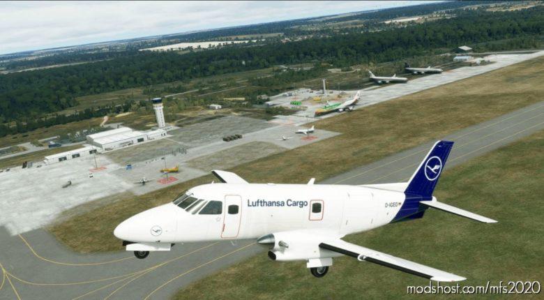 "Emb-110P1F Lufthansa Cargo D-Iged ""Basic Livery"" for Microsoft Flight Simulator 2020"