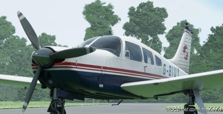 JF Piper Arrow III G-Biuy/G-Edvl for Microsoft Flight Simulator 2020