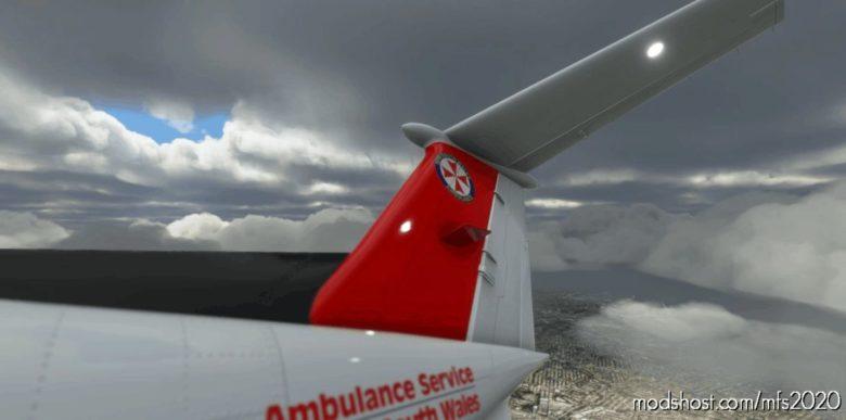 [8K] King AIR NSW Ambulance for Microsoft Flight Simulator 2020