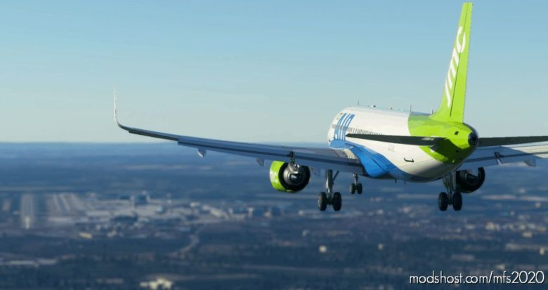 FBW A32NX JMC AIR for Microsoft Flight Simulator 2020