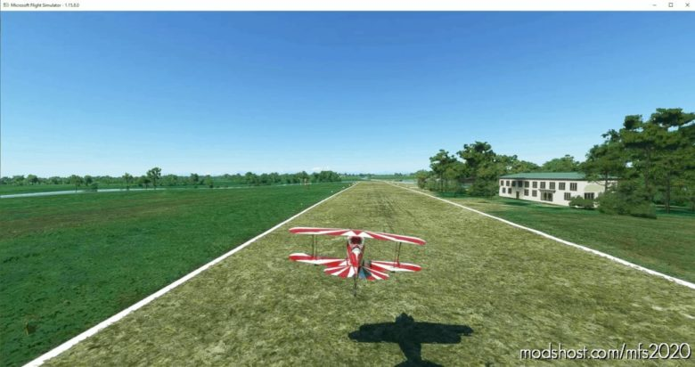 "Airfield ""Aviosuperficie Natale-Battistoni"" (Vigevano) Lsbb V1.1 for Microsoft Flight Simulator 2020"