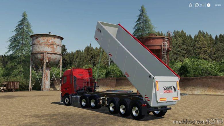 Schmitz Cargobull S.KI Heavy 8.5 Semi Tipper for Farming Simulator 19