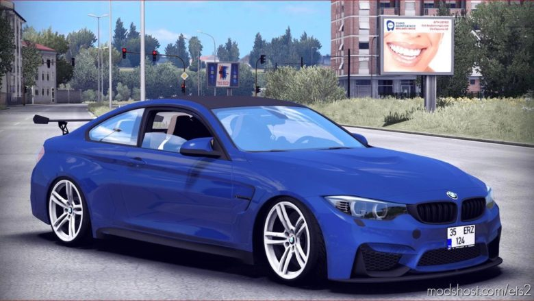 BMW M4 [1.40.X] for Euro Truck Simulator 2