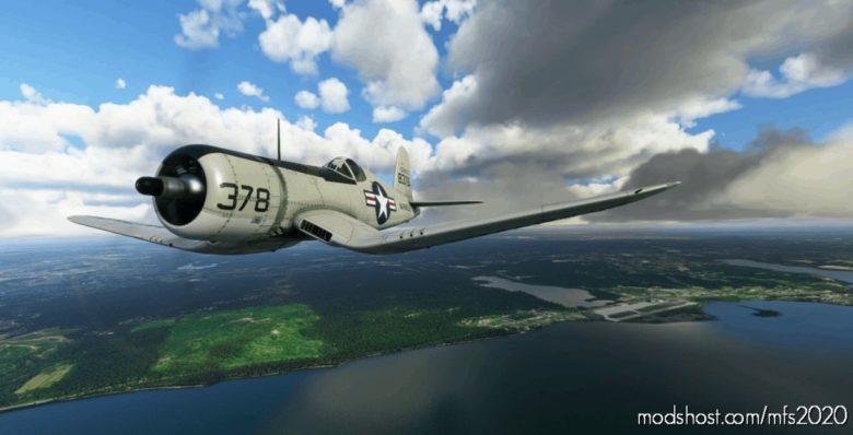 Goodyear FG-1D Corsair 8378 Quantico for Microsoft Flight Simulator 2020