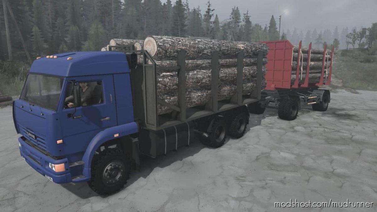 Kamaz-65225 Truck V27.04.21 for MudRunner