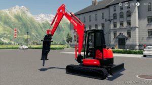 Kubota U48-4 for Farming Simulator 19