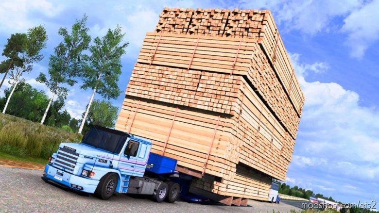 Giant Cargo Trailer Mod [1.40] for Euro Truck Simulator 2