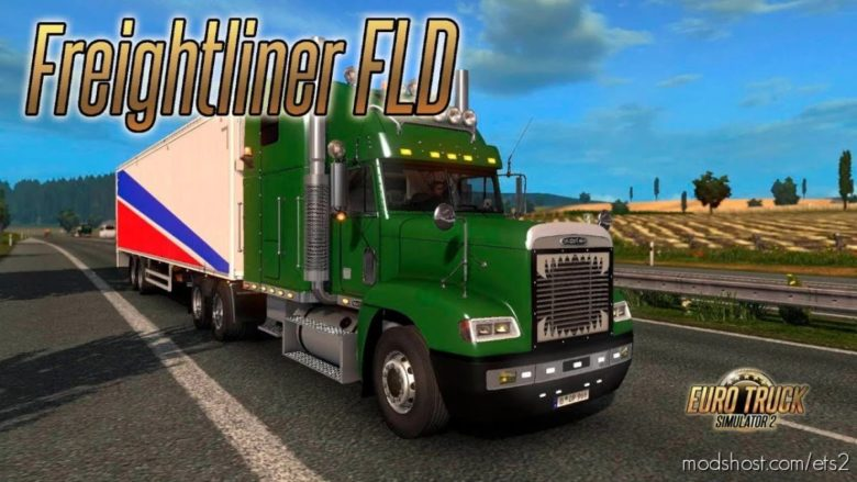 Freightliner FLD 30.04.21 [1.40] for Euro Truck Simulator 2