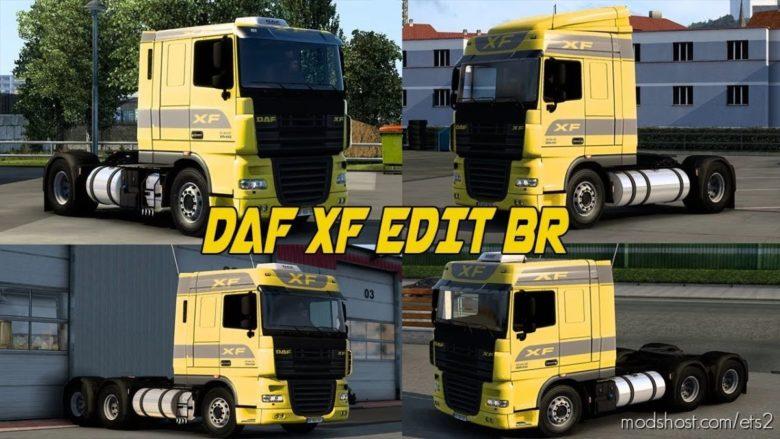 DAF Estilo Br-Edit [1.40] for Euro Truck Simulator 2