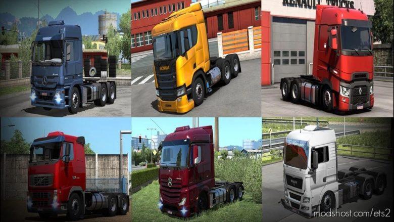 Truck Pack Brazil Edition [1.40] for Euro Truck Simulator 2