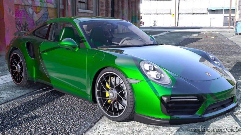 2016 Porsche 911 Turbo S V1.2 for Grand Theft Auto V