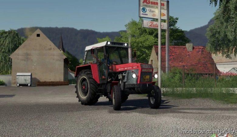 Zetor 10111 for Farming Simulator 19