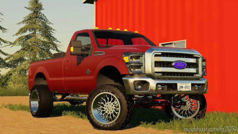 2011 Ford F-350 Work Truck Custom V1.1 for Farming Simulator 19