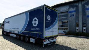 Krone Mega/Coil Liner V3.8A (Sogard3) *Best Trailer* [1.40.3] for Euro Truck Simulator 2