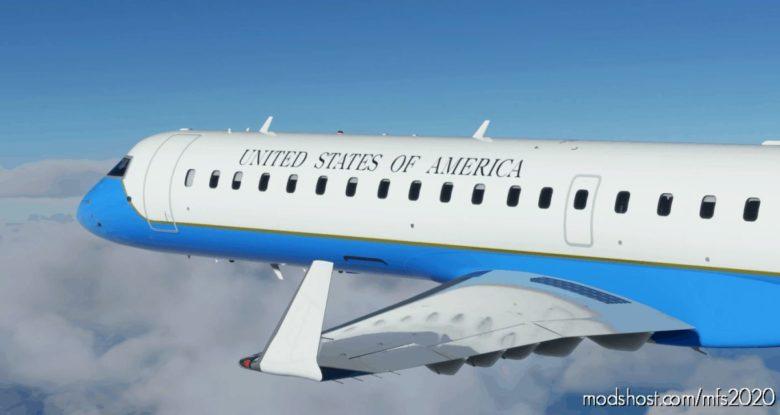 United States AIR Force (Usaf) CRJ 550 – 8K for Microsoft Flight Simulator 2020
