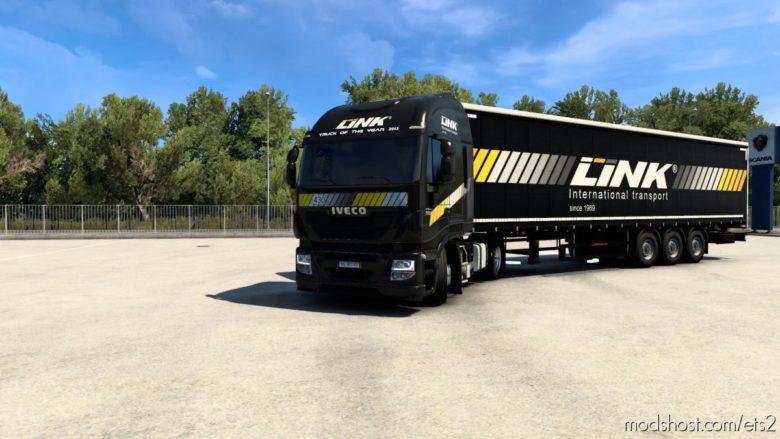 Link Transport Combo Skin for Euro Truck Simulator 2