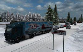 Russian Open Spaces V10.0 [1.40] for Euro Truck Simulator 2
