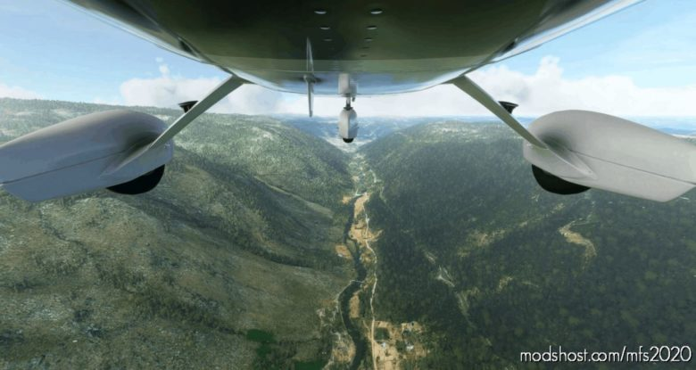 Flight Plan Zêzere River (RIO Zêzere) for Microsoft Flight Simulator 2020