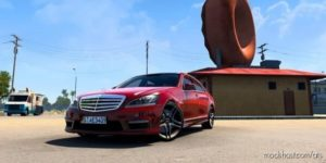 Mercedes-Benz S65 AMG W221 2012 V3.0 [1.40] for American Truck Simulator