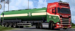 Demstrup Autotransport Scania S Combo V1.0.1 for Euro Truck Simulator 2