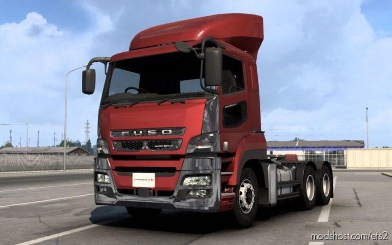 Mitsubishi Fuso Supergreat [1.40] for Euro Truck Simulator 2