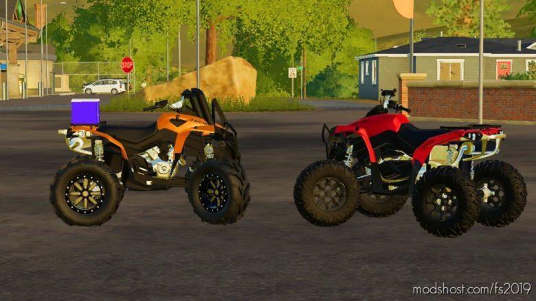 2014 CAN AM Renegade for Farming Simulator 19