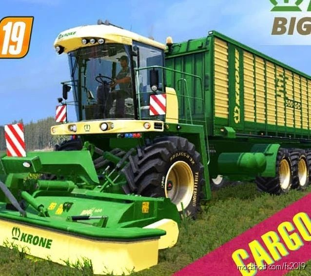 Krone Selbstfahrer Mäher Beta for Farming Simulator 19